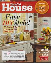 THIS OLD HOUSE MAGAZINE OCTOBER 2013