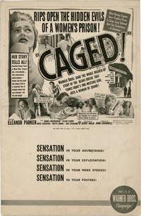 image of Caged (Original Film Pressbook)