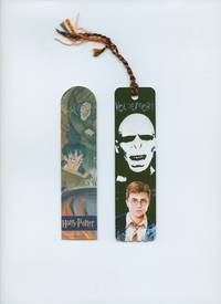 Two Harry Potter Bookmarks: [i] Harry Potter Reading a Book and [ii] Harry Potter Voldemort and the Order of the Phoenix