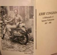 image of Kirby Congdon: A Bibliography of Separate Publications.