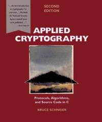image of Applied Cryptography : Protocols, Algorithms, and Source Code in C