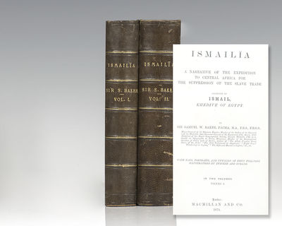 London: Macmillan and Co, 1847. First edition of Baker's classic work documenting his journeys to th...