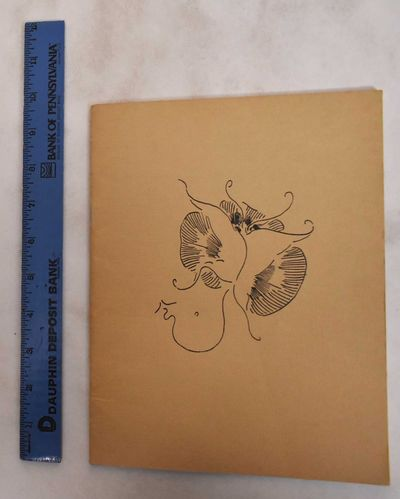 Nottingham, Eng: Nottingham University Art Gallery, 1970. Softcover. VG, covers show some fading. Pa...
