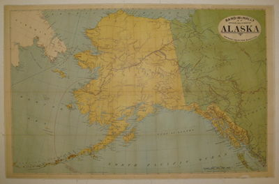 Rand, McNally & Co, 1897. unbound. very good. Map. Color lithograph backed on linen. Image measures ...