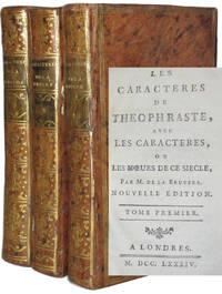 image of Les Caracteres de Theophraste, avec les caracteres, ou les Moeurs de ce siècle.