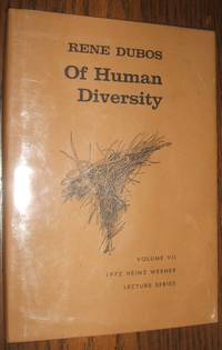 image of Of Human Diversity Volume VII 1972 Heinz Werner Lecture Series