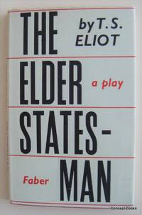 The Elder Statesman, a play (signed)