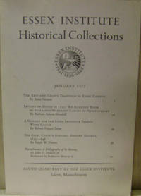 Essex Institute Historical Collections, January 1977