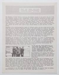 image of Why is the United States government supporting racism? [handbill]