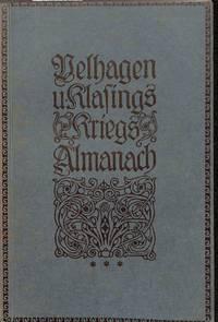 Kriegs-Almanach. by VELHAGEN UND KLAFING - from Frits Knuf Antiquarian Books (SKU: 19862)