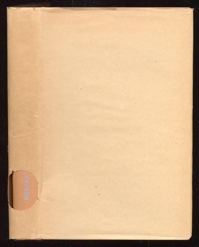 New York: John Wiley & Sons, 1941. Hardcover. Fine. First edition. 403pp. Bottom corners very slight...