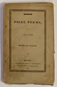 'Untitled Ode' [as published in]  BOSTON PRIZE POEMS and Other Specimens of Dramatic Poetry