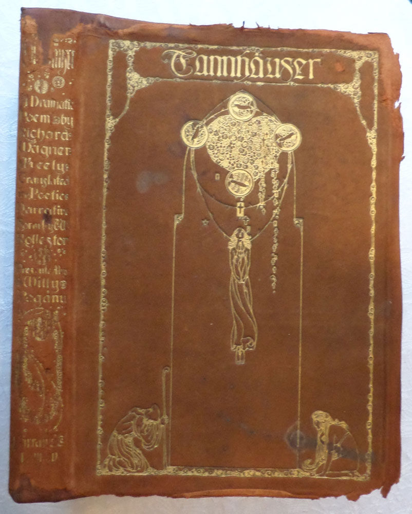 Tannhauser. A Dramatic Poem. Richard Wagner. Willy Pogany. 1911. 1st edition
