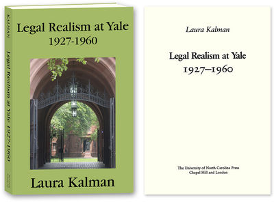 2010. ISBN-13: 9781616190491; ISBN-10: 1616190493. Yale's Contributions to Legal Realism Kalman, Lau...