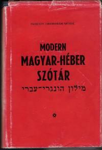 Modern Magyar-Heber Szotar