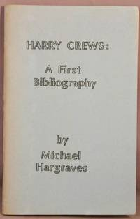 image of Harry Crews: A First Bibliography.