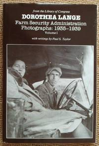 Dorothea Lange Farm Security Administration Photographs, 1935-1939. Volume I (with complete set of 9 microfiche cards)