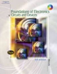 image of Foundations of Electronics: Circuits & Devices