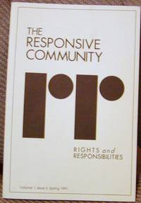 The Responsive Community Volume 1, Issue 2, Spring 1991