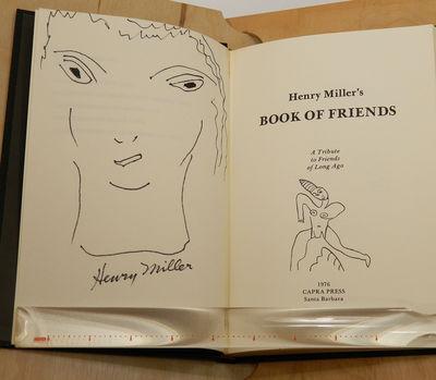 Santa Barbara: Capra Press, 1976. First edition. LETTER