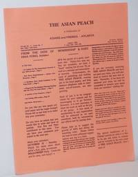 The Asian Peach: vol. 1, #3, August 1992 by  editor  Mark - First Edition - 1992 - from Bolerium Books Inc., ABAA/ILAB and Biblio.com