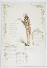image of Dickens' Celebrities: Calendar for 1902 (Single Page)