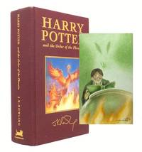 image of Harry Potter and the Order of the Phoenix. Deluxe Harry Potter With Unique Watercolour Painting