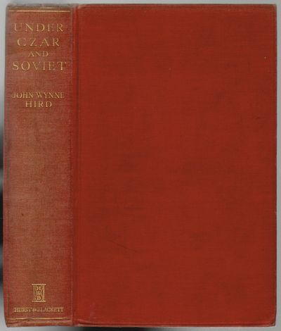 London: Hurst & Blackett, Ltd, 1932. First Edition. Hardcover. Very good-. xii, 287 pp. Light wear t...