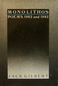 image of Monolithos; Poems 1962 and 1982