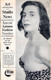 Art Advertiser and Studio News, Vol. 2 No. 5 (Vintage British adult magazine, 1959)