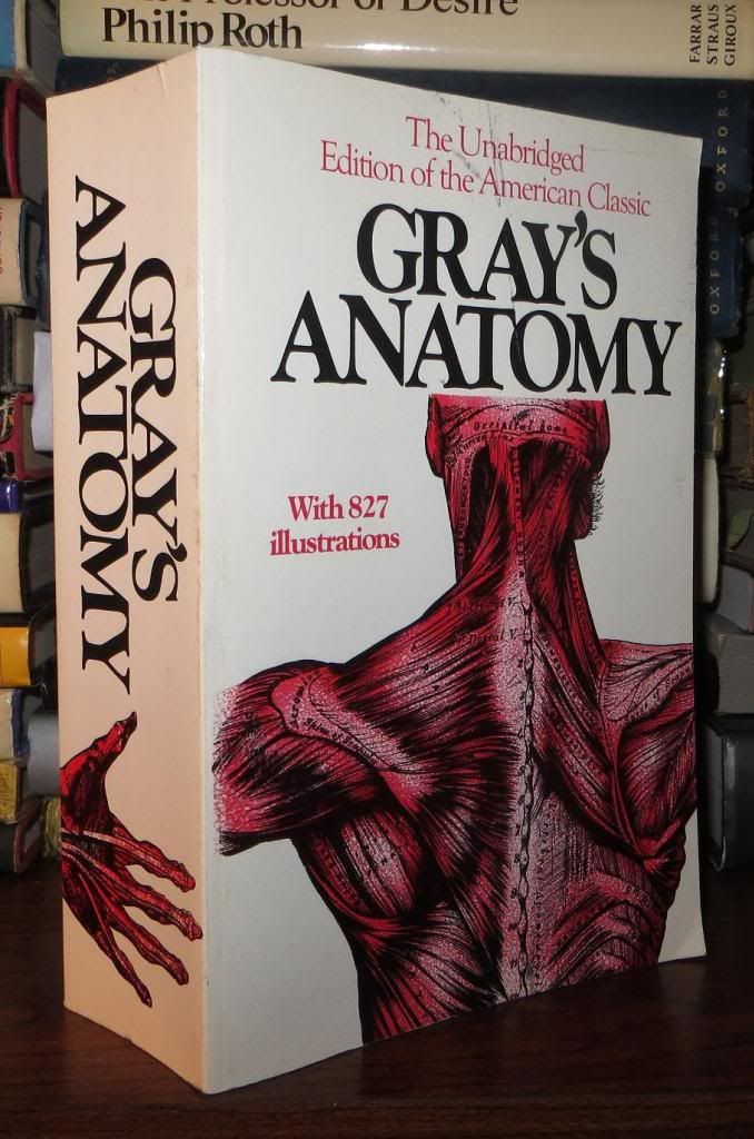 Grays Anatomy By Henry Gray Paperback First Edition Thus
