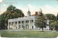 image of Mt. Vernon Mansion, VA (USA) Color Postcard ca. 1909