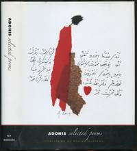 Adonis: Selected Poems (A Margellos World Republic of Letters Book)