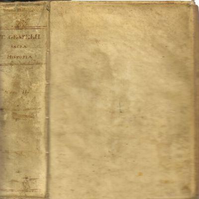 Gisbeti Zylii. Good. 1661. First Edition. Hardcover. Volume two of a Latin four volume set of Church...