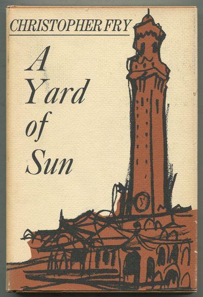 New York: Oxford, 1970. Hardcover. Fine/Near Fine. First American edition. Fine in near fine dustwra...