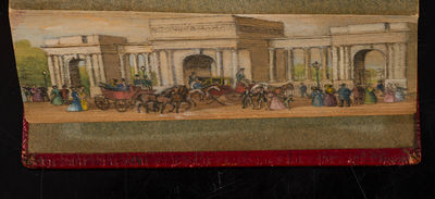 London: Printed for J. Sharpe, 1824. 'The Entrance to Hyde Park' An Early-to-Mid Twentieth Century F...