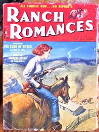 image of Fury at Carbine Creek. Short Story in Ranch Romances Volume 197 Number 4, April 20, 1956
