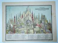 Color Diagram of the Principal High Buildings of the Old World