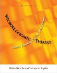 image of Microeconomic Theory: Basic Principles and Extensions 11th (Eleventh) Edition (Microeconomic Theory)