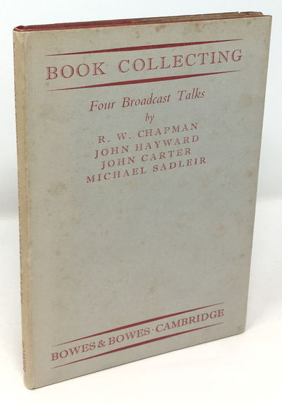 Hardcover with dust jacket, red cloth with dulled gilt spine titles, 12.5 by 19.3 cm, red top stain,...