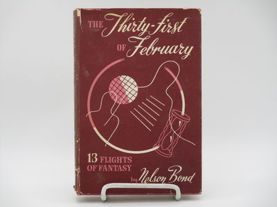 New York.: Gnome Press. , 1949 . 1st Edition.. Red cloth, black titles. . Very good, slight bump to ...