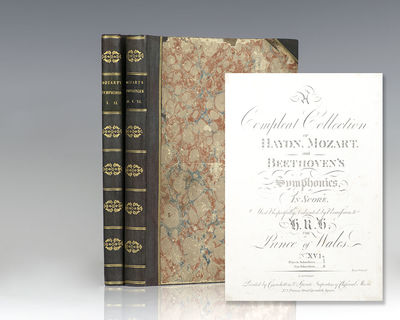 London: Lavenu, Cianchettini & Sperati, 1808-1810. First editions of the first printings of the full...