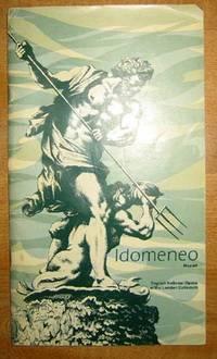 Idomeneo, Mozart: Playbill, March 4, 1976