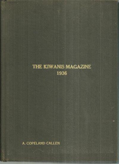 KIWANIS MAGAZINE 1936 BOUND VOLUME, Kiwanis