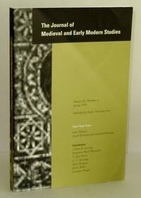 Journal of Medieval and Early Modern Studies, Volume 29, Number 2, Spring 1999; Open-Topic  Issue