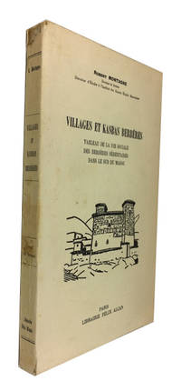 Paris: Felix Alcan, 1930. 1st ed. Paperback. Very Good. folding map and 80 photos (printed on one si...