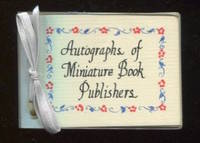 Autographs of Miniature Book Publishers.