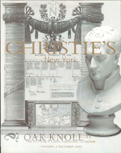 New York, NY: Christie's, 2004. stiff paper wrappers. Napoleon Bonaparte. 4to. stiff paper wrappers....