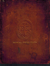 Regulations and Instructions, for the Medical Officers of His Majesty's Fleet. by Office of the Lord High Admiral - First Edition - 1825 - from Dale Steffey Books (SKU: 006970)