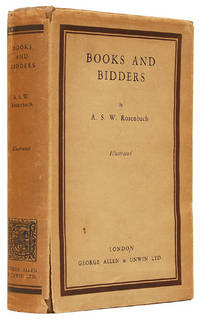 Books and Bidders. The Adventures of a Bibliophile. by  A. S. W ROSENBACH - First Edition - 1928 - from Peter Harrington and Biblio.co.uk